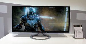 monitores grandes para jugar