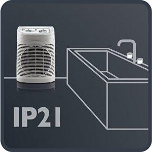 calefactor de aire para baño rowenta