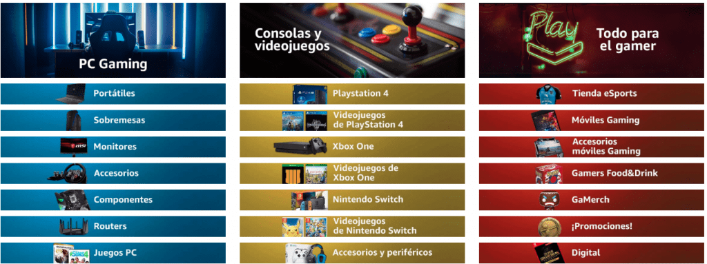 catalogo gaming 2019